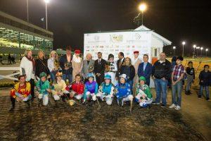 HH Sheikha Fatima Ladies race prize dist.